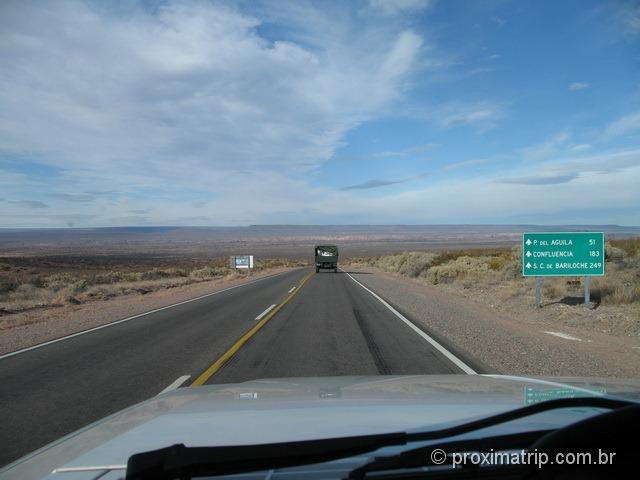 249 km para Bariloche!