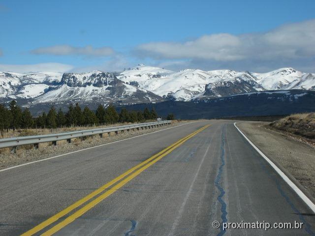 Bariloche de carro - picos nevados, paisagem espetacular (foto2)