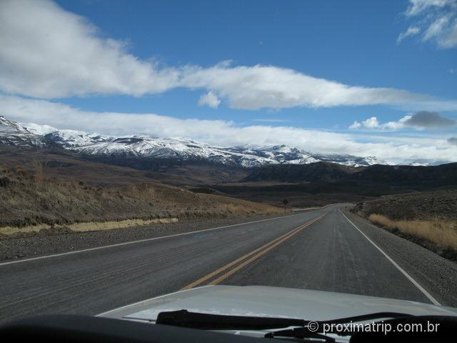 Bariloche de carro - picos nevados, paisagem espetacular!