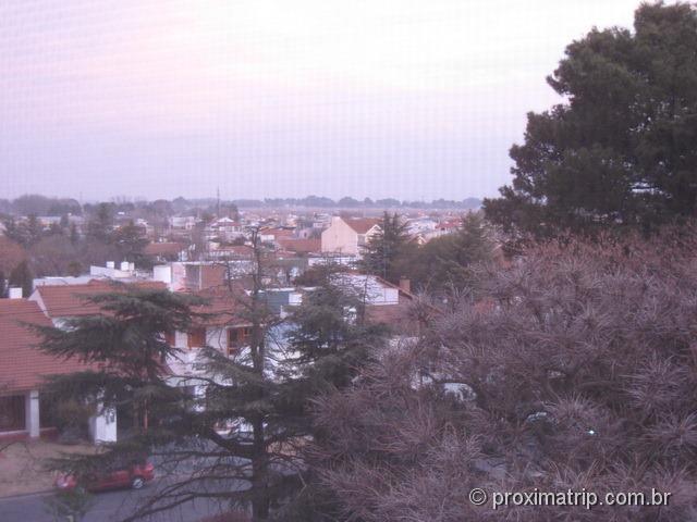 Trenque Lauquen - vista da cidade do nosso hotel