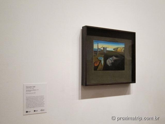 MoMA: The persistence of Memory (A persistência da memória) – Salvador Dalí