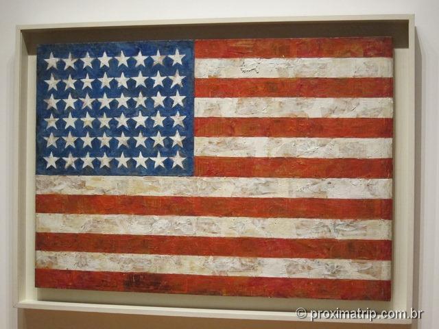 MoMA: American flag – Andy Warhol