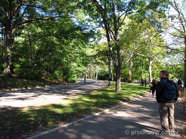 Passeio a pé em Nova York: central park