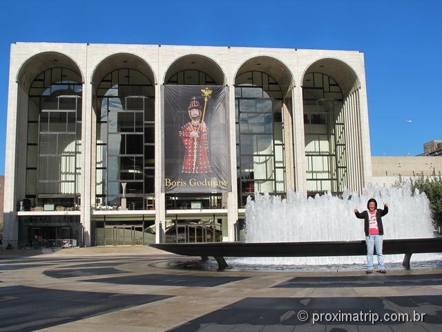 Passeio a pé em Nova York: Metropolitan Opera House