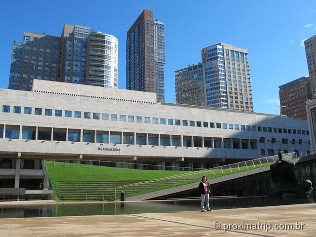 Passeio a pé em Nova York: The Julliard School of Music