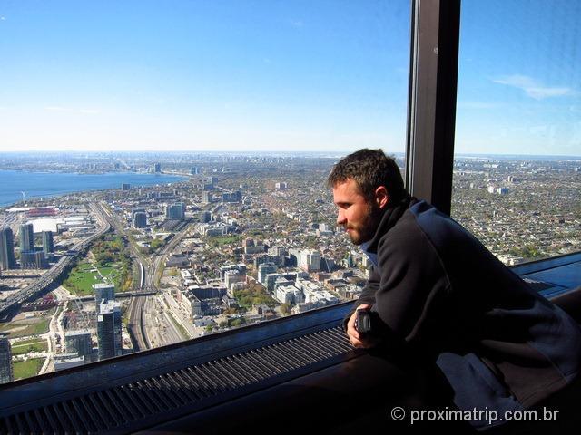 CN Tower: a vista mais espetacular de Toronto