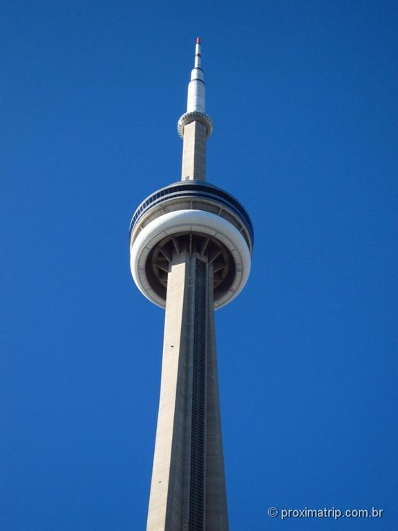 CN Tower - Torre de observação em Toronto - Canadá