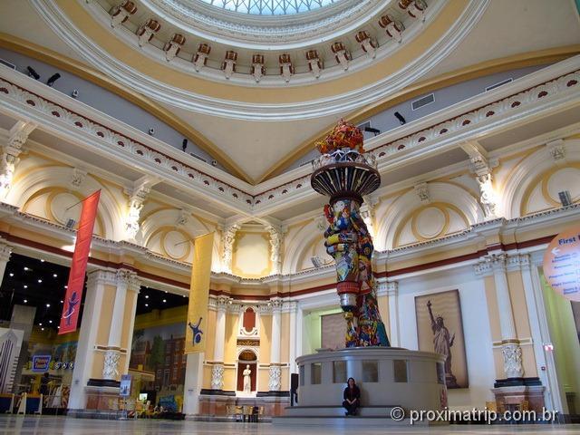 chama da estátua da liberdade - Please Touch Museum - Philadelphia