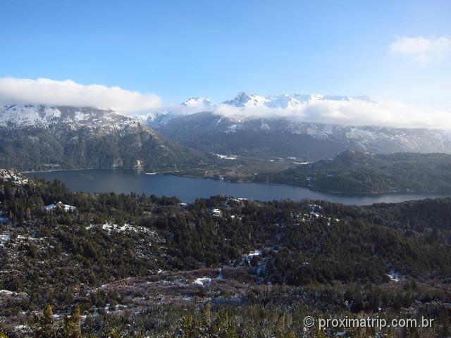 Cerro Campanario - vista das montanhas em Bariloche