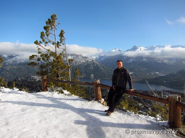 Cerro Campanario - uma das mais belas vistas em Bariloche
