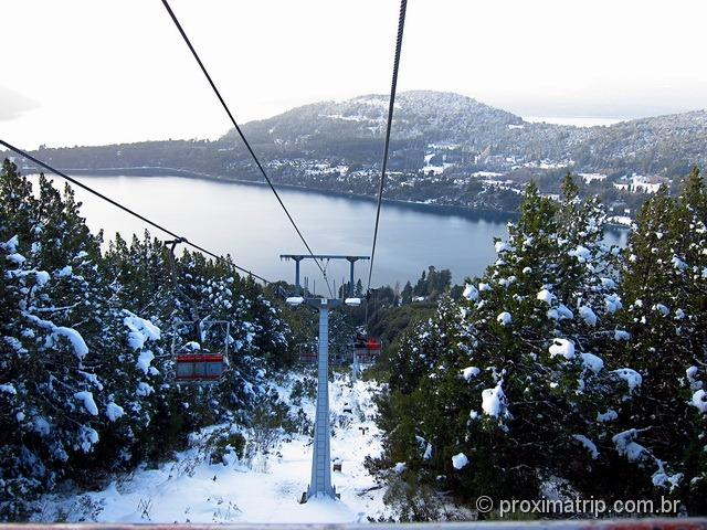 Linda vista do lago Nahuel huapi - Aerosilla Cerro campanario - Bariloche