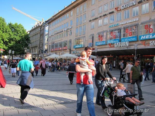Loja Saturn perto da Marienplatz - Munique