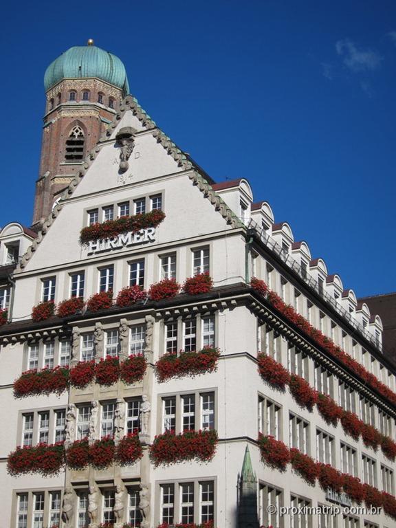Loja Hirmer perto da Marienplatz - Munique