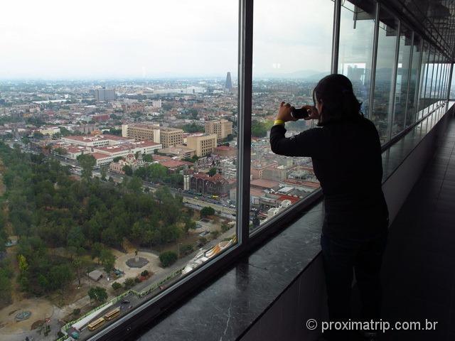 Vista da Torre Latinoamericana - por dentro - Cidade do México