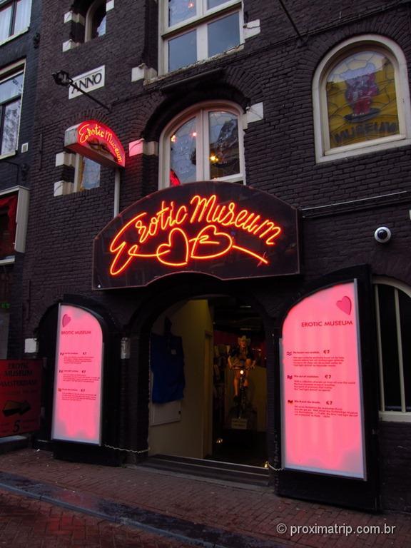 Erotic Museum em amsterdam