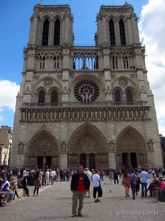 Catedral de Notre Dame (frente) - Paris
