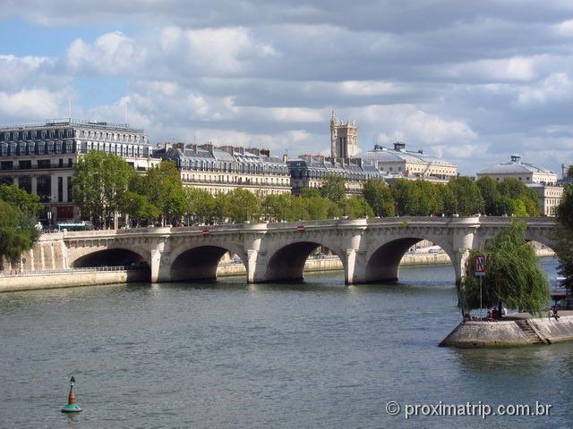 ponte Neuf - rio Sena - Paris