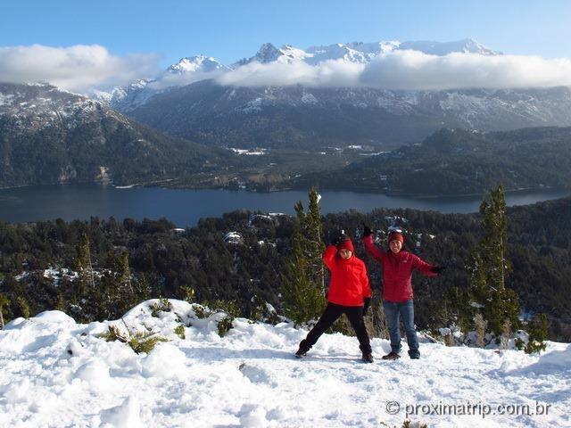 Uma das mais belas vistas de Bariloche (foto 2) - Cerro Campanario