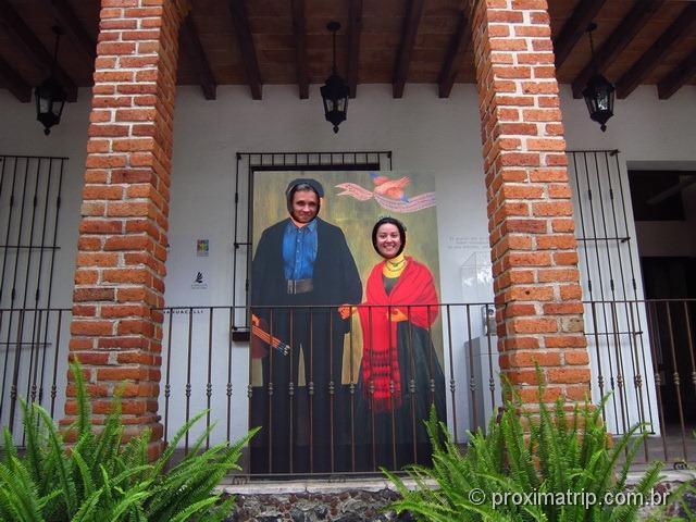 Diogo Rivera e Frida Kahlo - Museu Frida Kahlo - Cidade do México