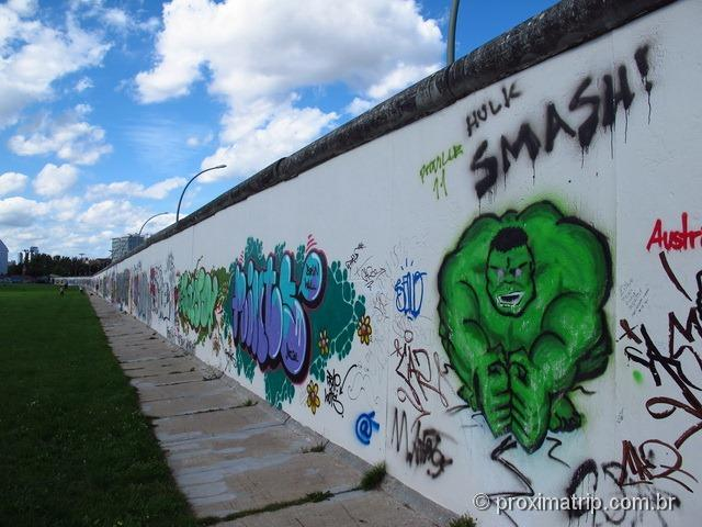 Hulk - Smash! Muro de Berlim - East Side Gallery