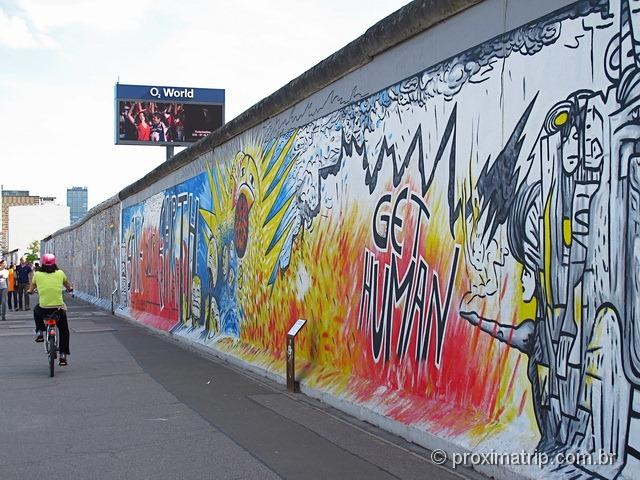 grafite no Muro de Berlim - East Side Gallery - 03