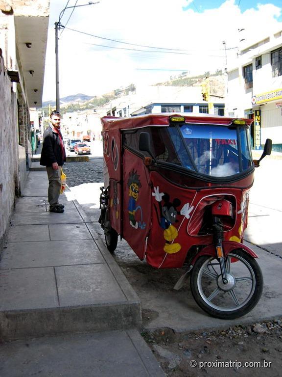 Moto taxi (triciclo) Peruano