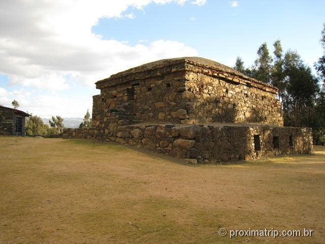 ruínas pré-incas de Willcawain