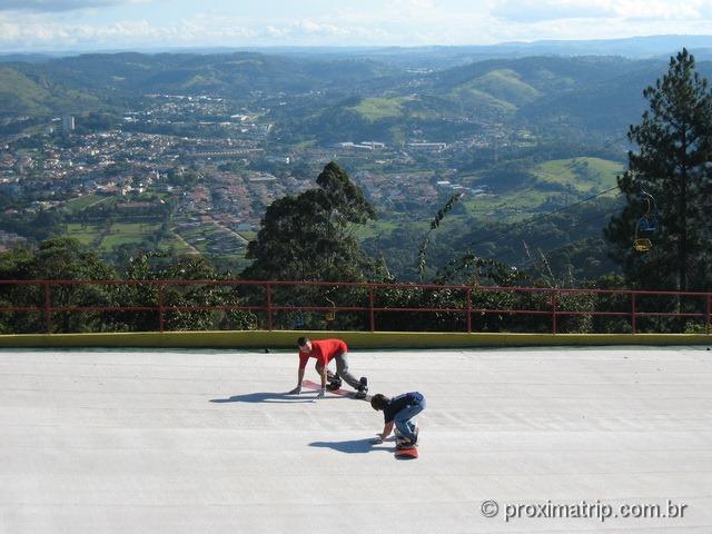 Pista de ski do Ski Mountain Park - São Roque