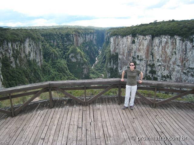 Parque Nacional Aparados da Serra - mirante da Trilha do cotovelo