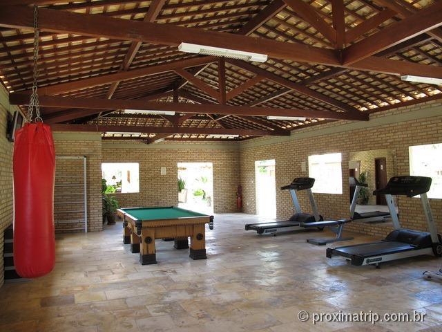 sala de ginástica - Grand Oca Maragogi Resort