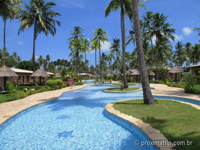 Piscinas do Grand Oca Maragogi Resort - antigo miramar