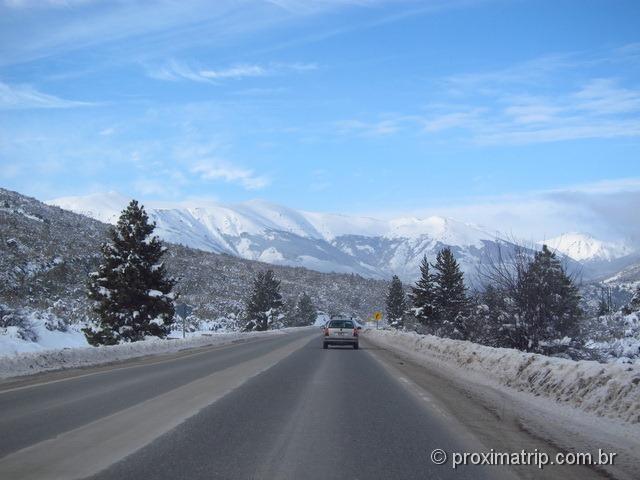 estrada que leva ao Cerro Catedral - Bariloche