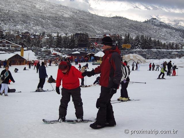 Snowboard no Cerro Catedral - vai uma ajuda ai ? - Bariloche
