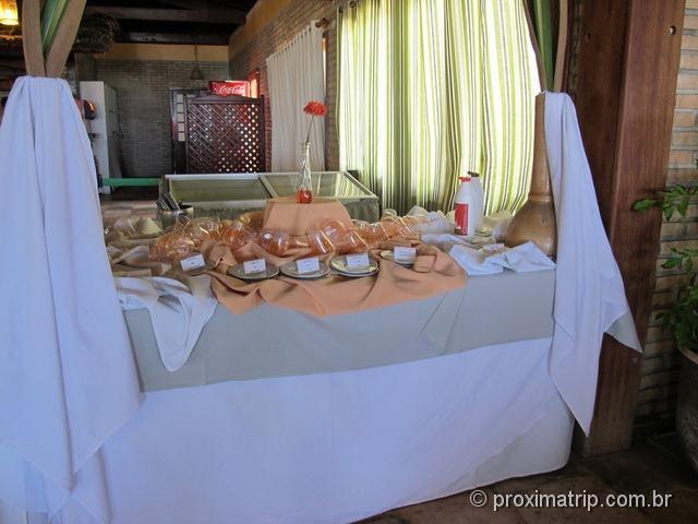 sorvetes do Grand Oca Maragogi Resort - antigo miramar