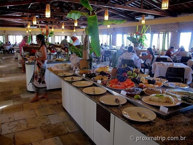 Restaurante do Grand Oca Maragogi Resort - antigo miramar - review Proximatrip