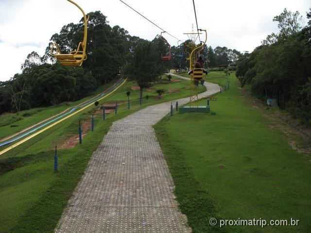 Teleférico do Ski Mountain Park - São Roque
