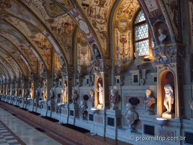 sala antiquarium do residenz - Munique