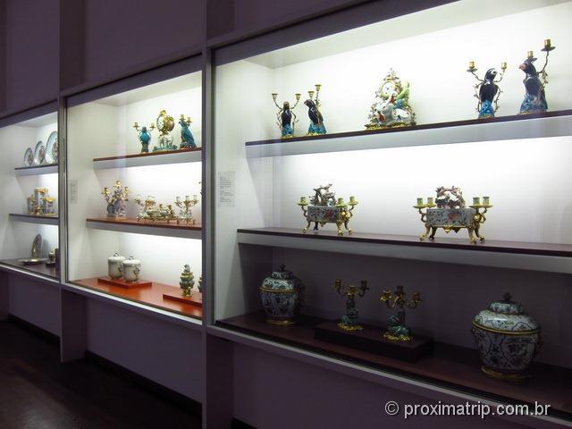 coleção de louças dos reis - Residenz - Munique