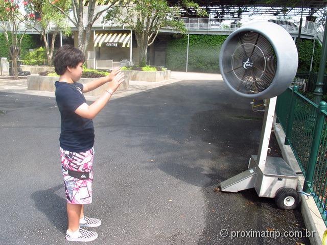Umidificador/Borrifador de água- Parque Universal Studios em Orlando
