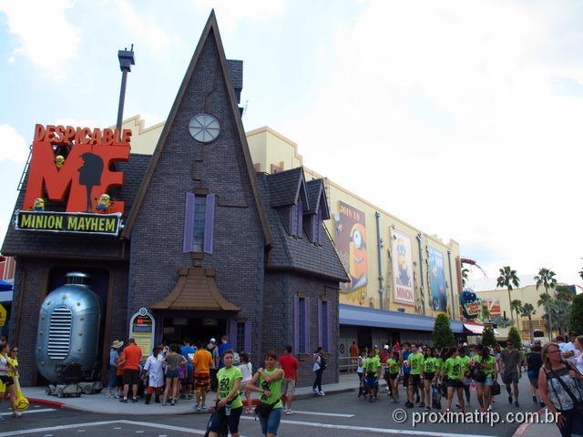 Brinquedo Meu Malvado Favorito - Parque Universal Studios em Orlando