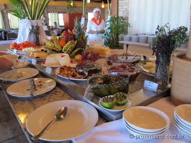 sobremesas do Grand Oca Maragogi Resort - antigo miramar
