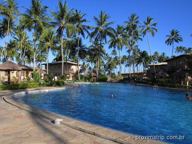 Piscina do Grand Oca Maragogi Resort - antigo miramar - review Proximatrip