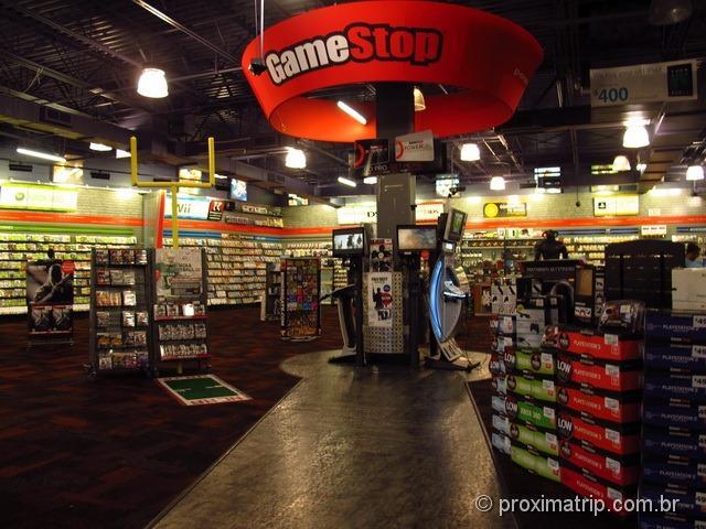 Loja Gamestop - Compras em Orlando - resumão