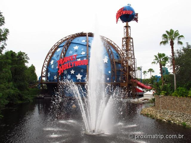 Planet Hollywood na Downtown Disney Orlando