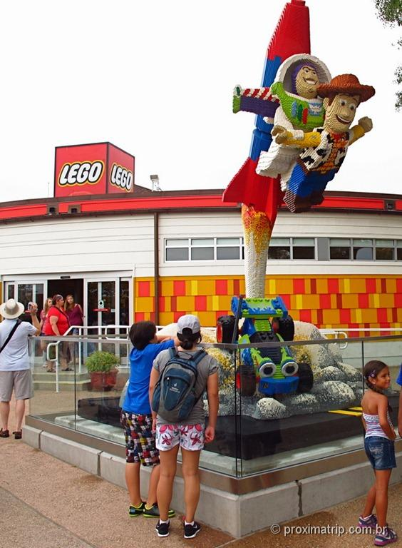 Loja da Lego na Downtown Disney Orlando