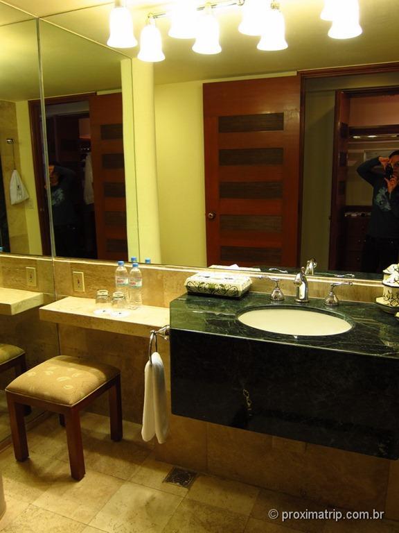 Banheiro do Hotel JW Marriot Cidade do México • Review Proxima Trip