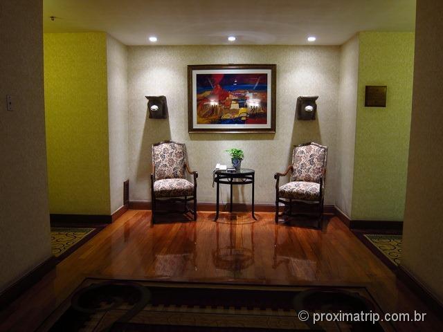 corredores do Hotel JW Marriot Cidade do México • Review Proxima Trip