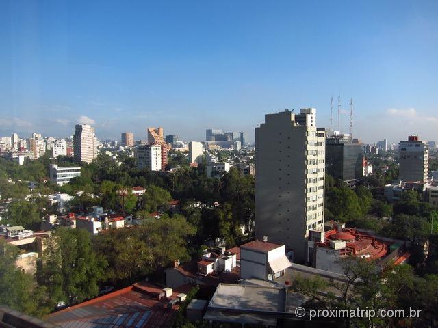 Vista do quarto do Hotel JW Marriot Cidade do México • Review Proxima Trip
