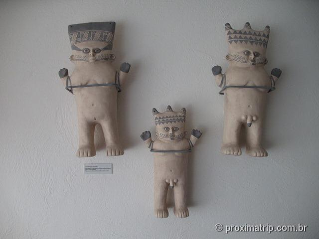 Bonequinhos Pachamama e Pachapapa peruanos