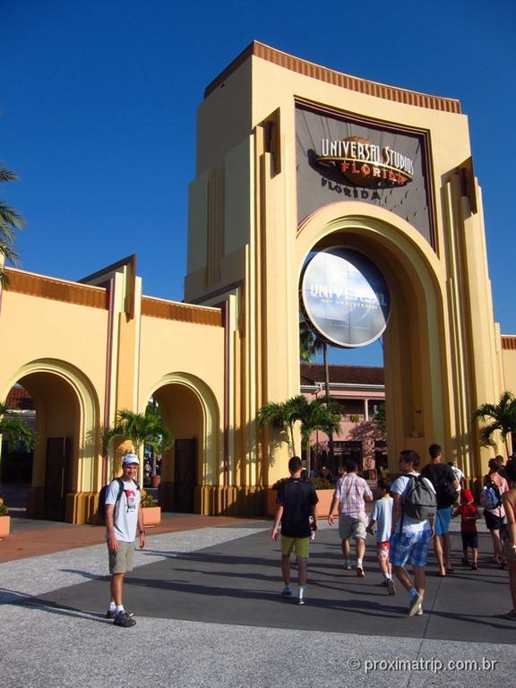 Entrada do Universal Studios em Orlando